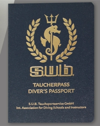 S.U.B. Taucherpass