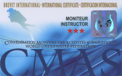 International Diving Instructor***