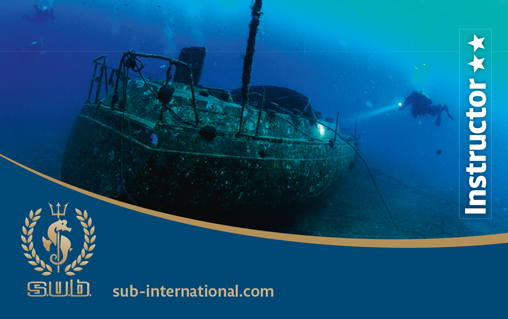 International Diving Instructor**